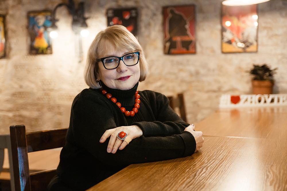 """ЛЮДМИЛА ГОРДЕЛАДЗЕ: """"Молодые украинские режиссёры хотят, чтобы их """"учёбу"""" смотрели на большом экране"""""""