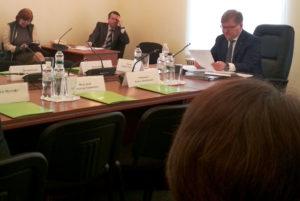 Засідання парламентського комітету з прав людини