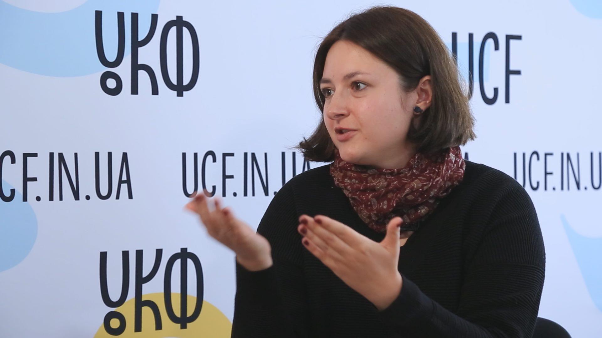 """Юлія Федів: """"Майже всі експерти УКФ погодились оцінювати проєкти лише на умовах анонімності"""" (ВІДЕО)"""